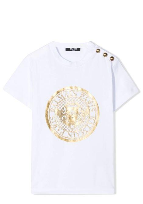 PRINT T-SHIRT BALMAIN KIDS | T-shirt | 6O8011 OX390100OR