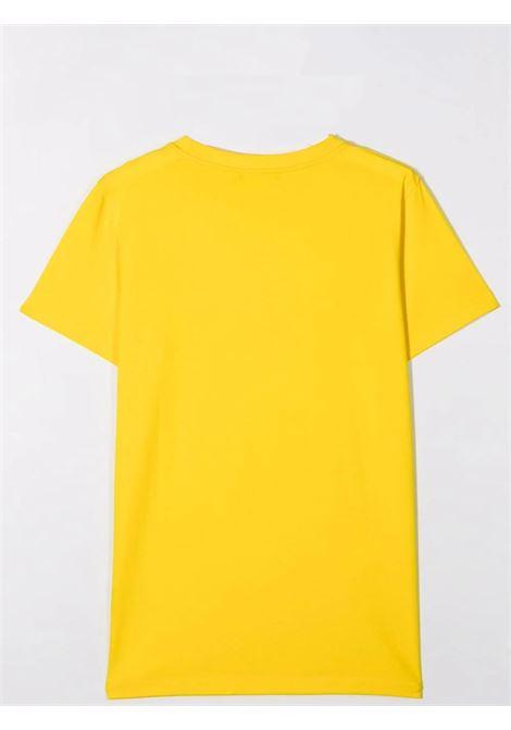 Unisex T-shirt with embossed logo BALMAIN KIDS | 6O8631 OX390201