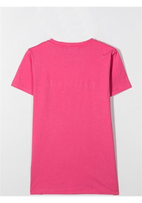 Unisex T-shirt with embossed logo BALMAIN KIDS | 6O8631 OX390513