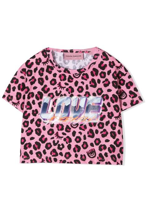 Spotted girl t-shirt CHIARA FERRAGNI KIDS | CFKT02905