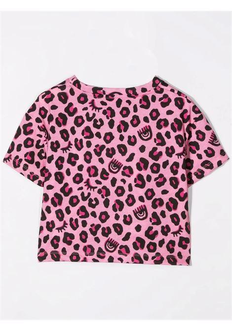 Spotted girl t-shirt CHIARA FERRAGNI KIDS | CFKT029T05