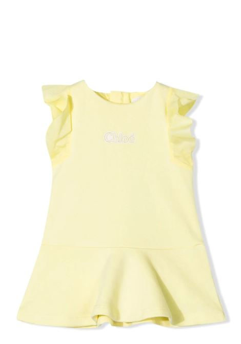 DRESS WITH EMBROIDERY CHLOE' KIDS | Dress | C0228560A