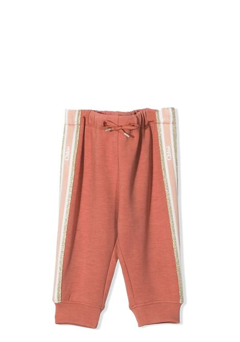 TROUSERS WITH GLITTER CHLOE' KIDS | Trousers | C04188366