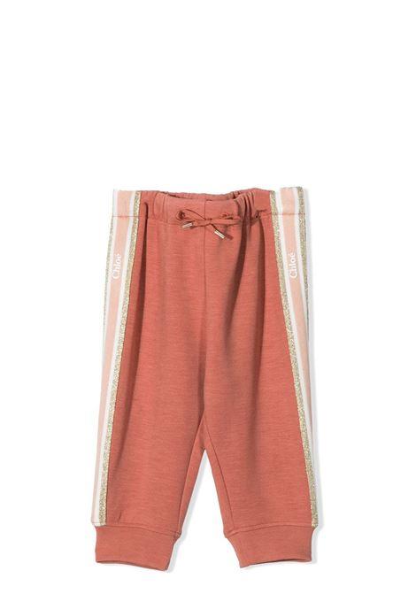 PANTALONI CON GLITTER CHLOE' KIDS | Pantaloni | C04188366