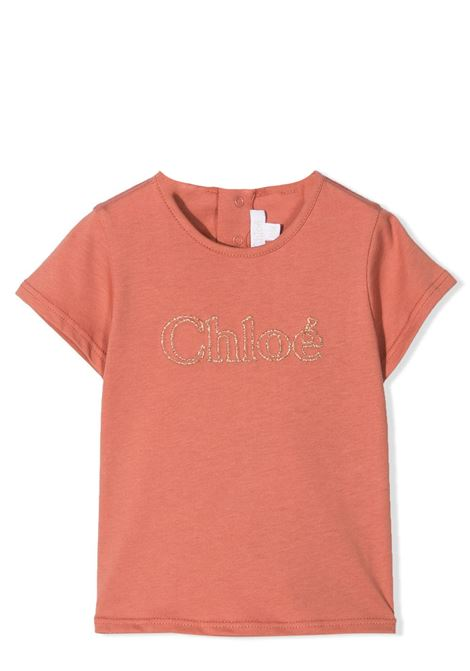T-SHIRT WITH DECORATION CHLOE' KIDS | T-shirt | C05365366