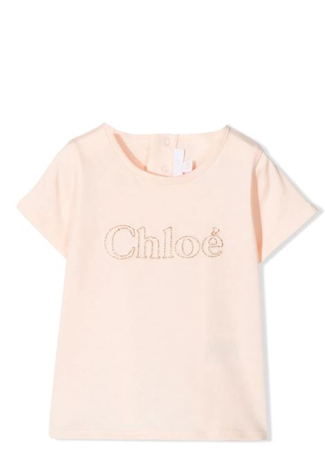 T-SHIRT CON DECORAZIONE CHLOE' KIDS | T-shirt | C0536545F
