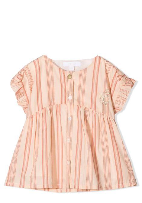 STRIPED DRESS CHLOE' KIDS | Shirt | C05369Z44
