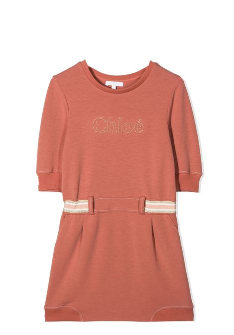 DRESS WITH EMBROIDERY CHLOE' KIDS | Dress | C12818366