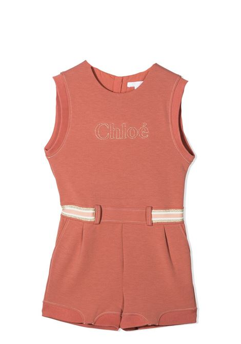 JUMPSUIT WITH SLEEVES AND SHORT LEGS CHLOE' KIDS | Suits | C14649366