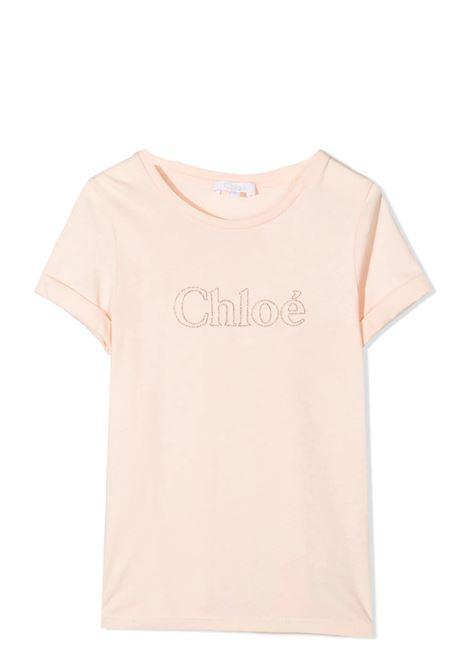 T-SHIRT CON RICAMO CHLOE' KIDS | T-shirt | C15B8445F