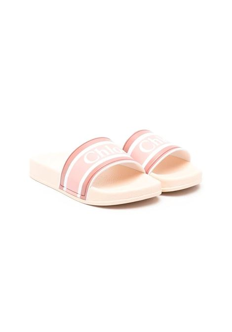 SLIPPERS WITH LOGO BAND CHLOE' KIDS | Slippers | C19124366