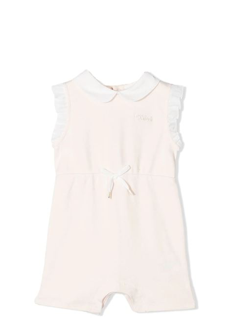 ROMPER WITH RUCHES CHLOE' KIDS | Newborn jumpsuits | C94392440