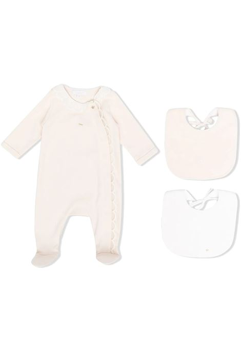 ROMPER WITH RUCHES CHLOE' KIDS | Newborn jumpsuits | C97265440