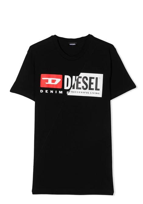 T-SHIRT CON STAMPA DIESEL KIDS | T-shirt | 00J4YH-00YI9TK900