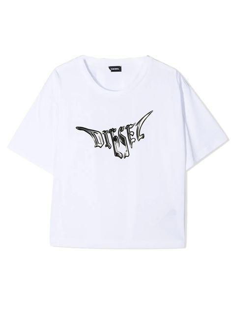 T-SHIRT CN LOGO 3D DIESEL KIDS | T-shirt | J00019-0PAZLTK100