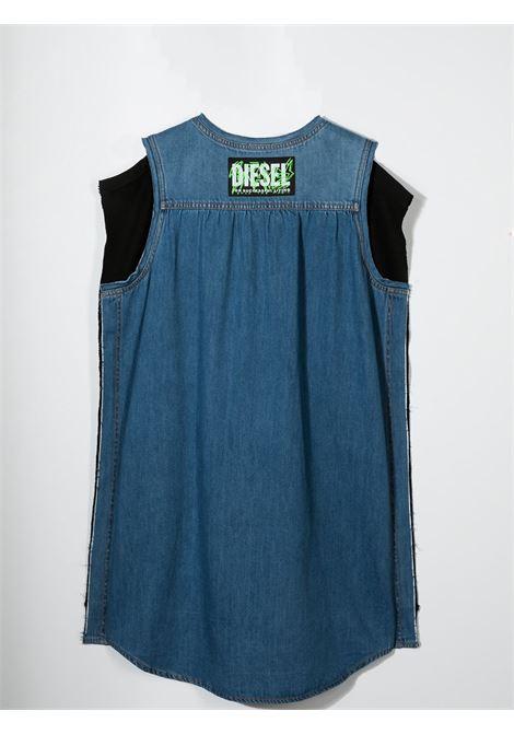 DENIM DRESS MODEL T-SHIRT DIESEL KIDS | J00124-KYARKK900