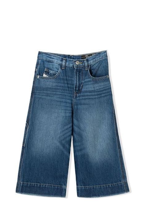 JEANS A GAMBA AMPIA DIESEL KIDS | Jeans | J00145-KXB74K01
