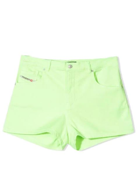 SHORTS WITH APPLICATION DIESEL KIDS | Short | J00205-KXB7QTK51B