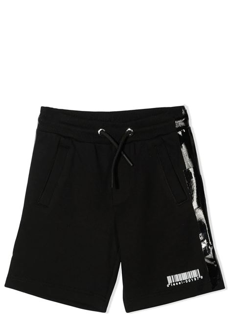 BERMUDA WITH SHINY SIDE BANDS DIESEL KIDS | Bermuda | J00433-0KASLK900