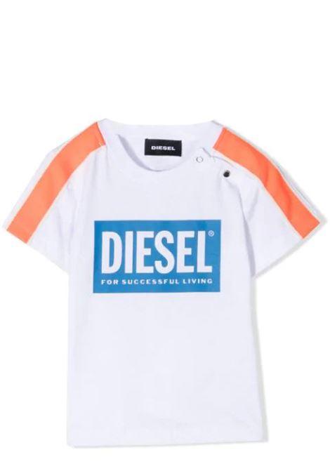 T-SHIRT CON STAMPA DIESEL KIDS | T-shirt | K00042-KYAR1K100