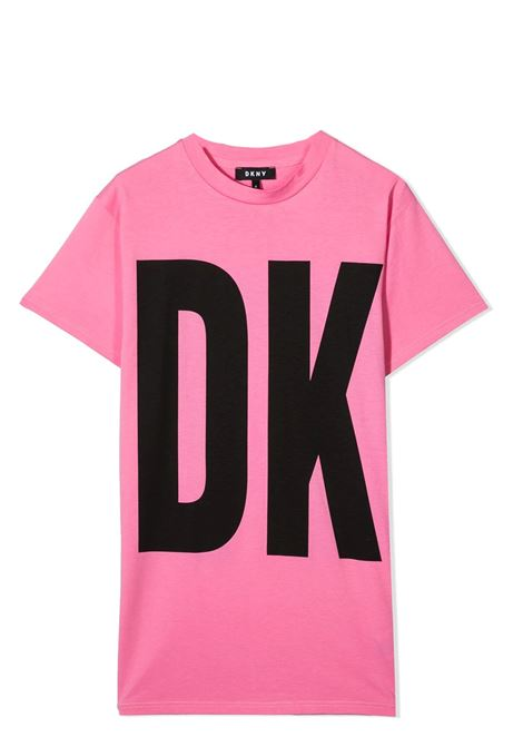 ABITO MODELLO T-SHIRT DKNY KIDS | Abiti | D32777744G