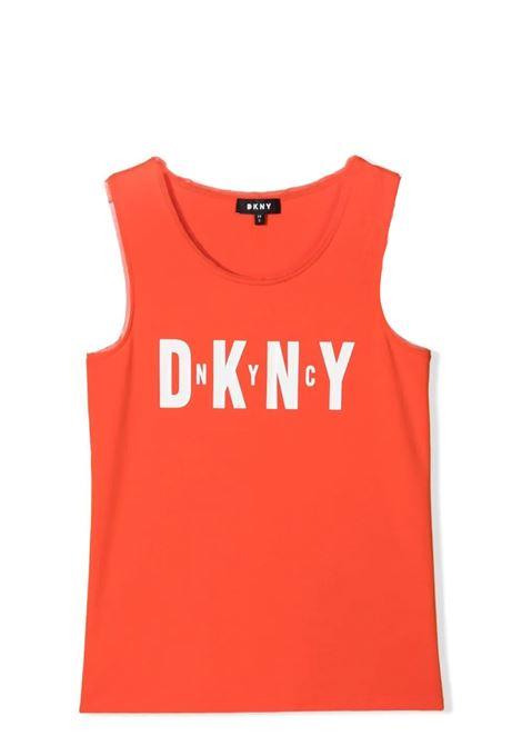 TANK WITH PRINT DKNY KIDS | D35R21T982