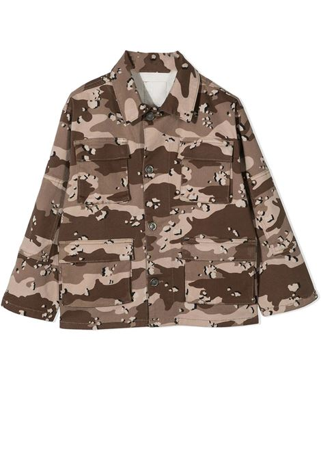 CAMOUFLAGE PRINT SHIRT DOUUOD JUNIOR | Jacket | CT60 11120125
