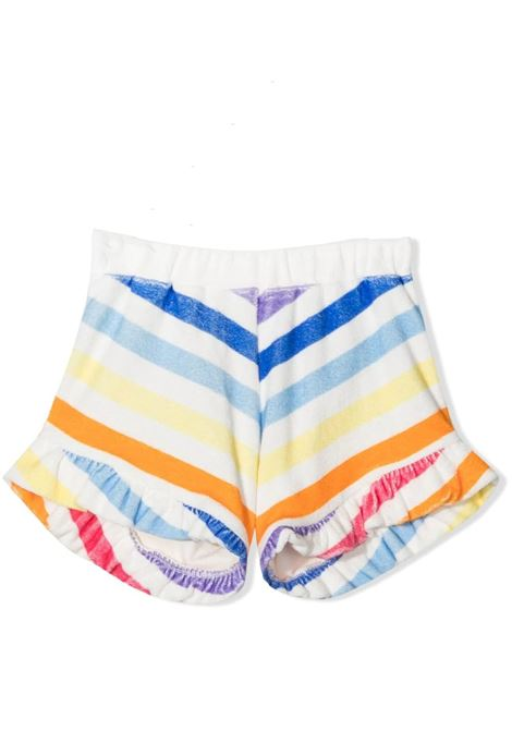 STRIPED SHORTS WITH ROUCHES DOUUOD JUNIOR | Short | FC20 3510T0100