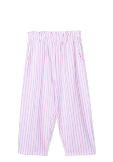 PANTALONI A RIGHE DOUUOD JUNIOR | Pantaloni | PA02 03310442