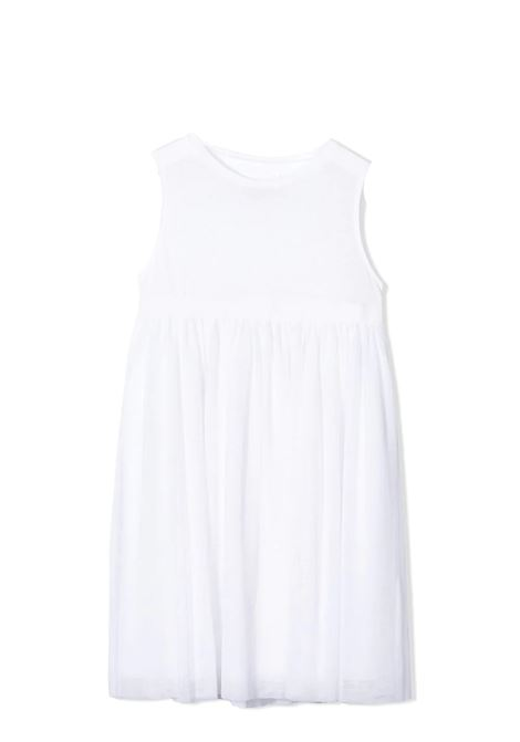 WHITE SLEEVELESS DRESS DOUUOD JUNIOR | Dress | TA40 1228T0101