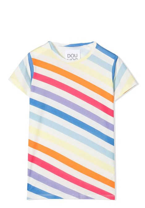 T-SHIRT CON DESIGN COLOR-BLOCK DOUUOD JUNIOR | T-shirt | TE53 12270100
