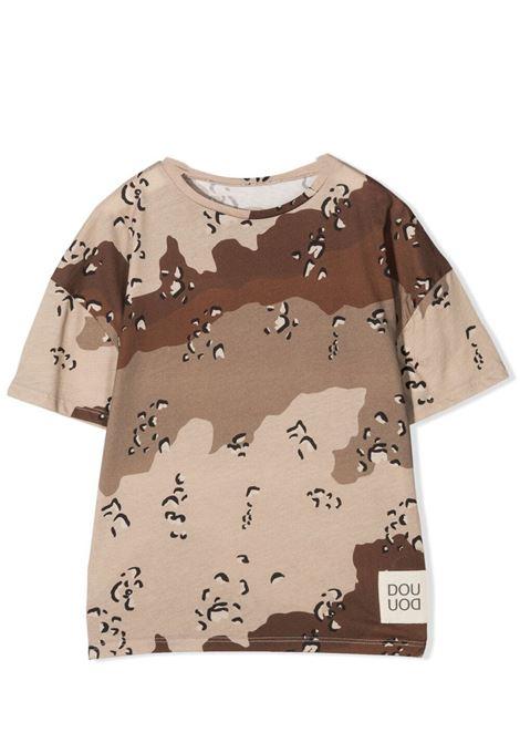 T-SHIRT CON STAMPA CAMOUFLAGE DOUUOD JUNIOR | T-shirt | TE60 12110125