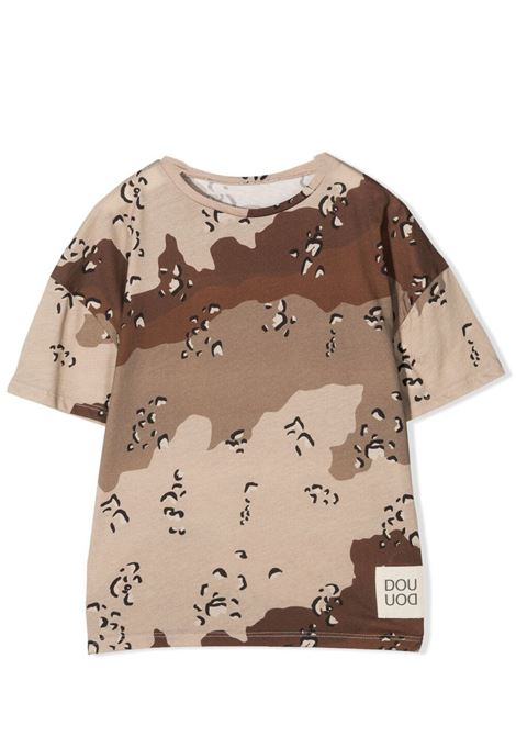 T-SHIRT CON STAMPA CAMOUFLAGE DOUUOD JUNIOR | T-shirt | TE60 1211T0125