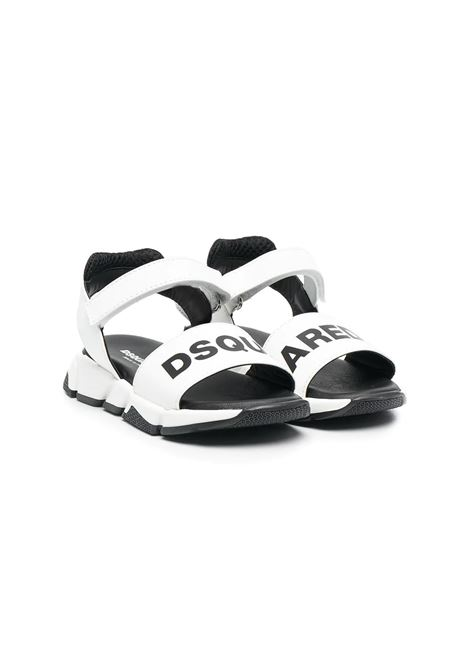 SANDALS WITH PRINT DSQUARED2 JUNIOR | Sandals | 669611