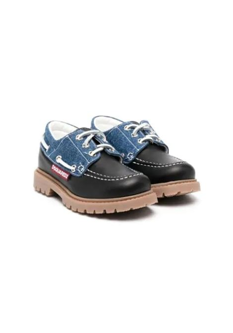 LOAFERS WITH STRINGS DSQUARED2 JUNIOR | Loafers | 67090T3