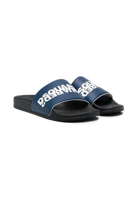 SLIPPERS WITH PRINT DSQUARED2 JUNIOR | Slippers | 67093T4