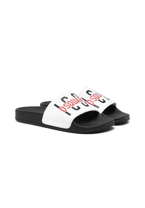 SLIPPERS WITH PRINT DSQUARED2 JUNIOR | Slippers | 671402