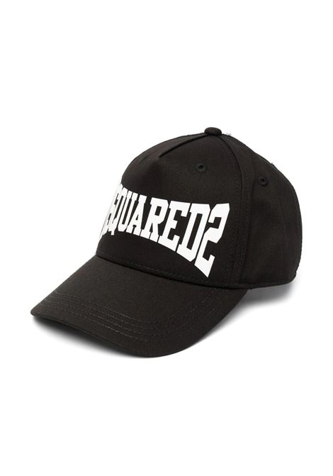 HAT WITH VISOR DSQUARED2 JUNIOR | Hats | D2F133U-DQ0134-D00YTDQ900