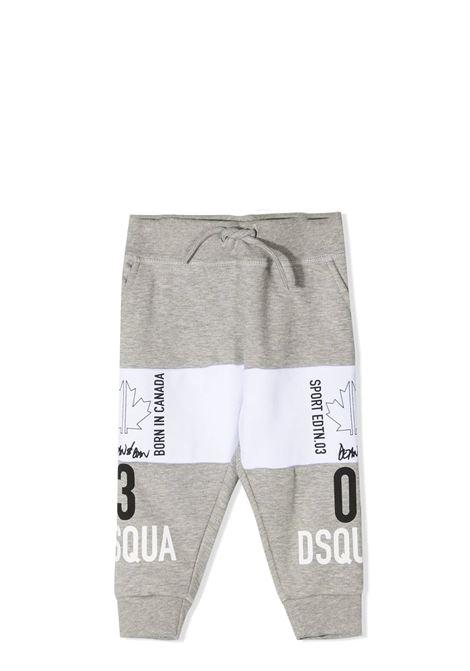LOGO  PRINT TRACK PANTS DSQUARED2 JUNIOR | Trousers | D2P303B-DQ0009-D004MDQ911