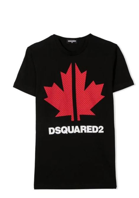 PRINT T-SHIRT DSQUARED2 JUNIOR | T-shirt | D2T570U-DQ0028-D004GDQ900
