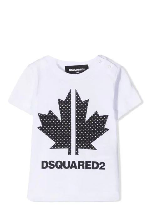 PRINT T-SHIRT DSQUARED2 JUNIOR | T-shirt | D2T584B-DQ0029-D004GDQ100