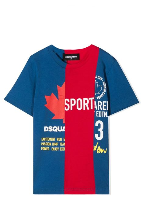 PRINT T-SHIRT  DSQUARED2 JUNIOR | T-shirt | D2T600U-DQ0031-D004GTDQ868