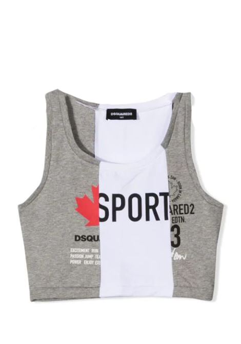 TOP SPORT DSQUARED2 JUNIOR | Top | D2T607F-DQ0038-D004JTDQ911