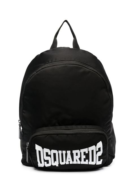 BACKPACK WITH PRINT DSQUARED2 JUNIOR | Backpack | D2W50U-DQ0139-D005TDQ900