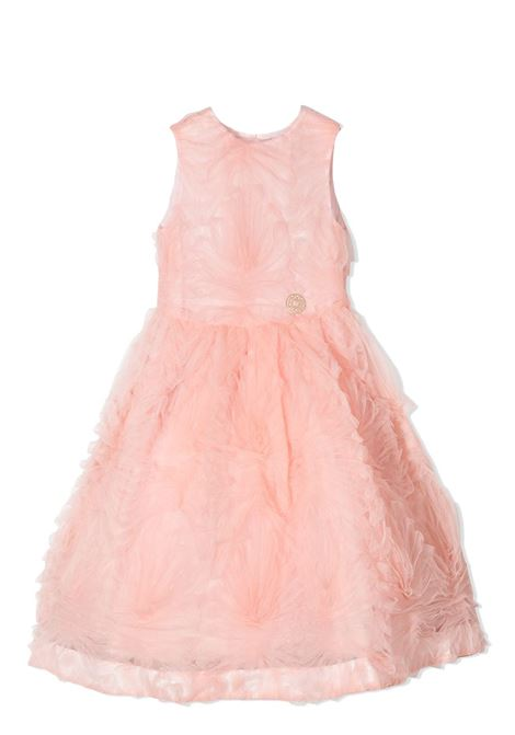 DRESS WITH RUCHES ELIE SAAB JUNIOR | Dress | 3O1022 OC010503