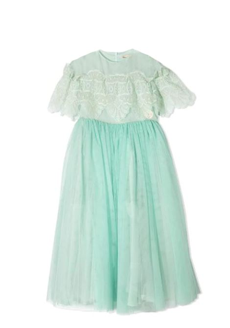 DRESS IN PANELS ELIE SAAB JUNIOR | Dress | 3O1111 OB720T709