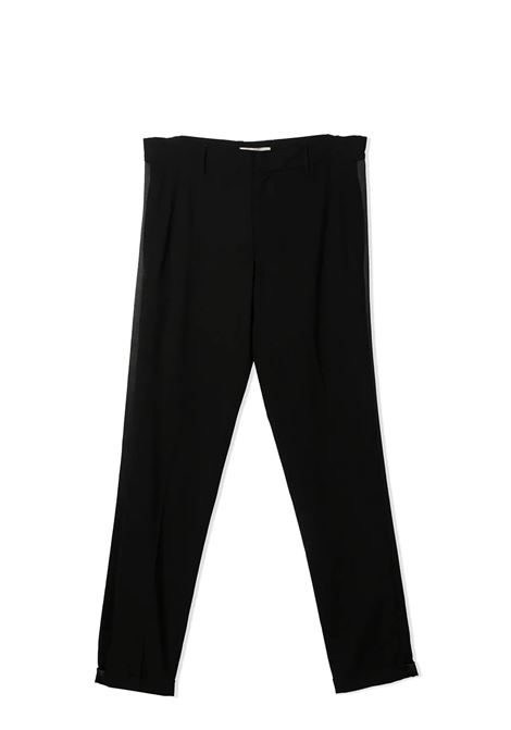 PANTS WITH SIDE BAND ELIE SAAB JUNIOR | Trousers | 3O6500 OB620930