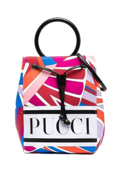 BUCKET BAG WITH PRINT EMILIO PUCCI | Bags | 9O0128 OC520407AZ