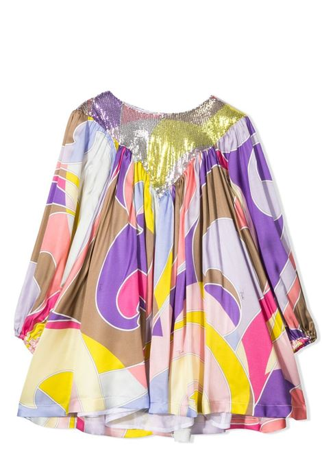 DRESS WITH PRINT EMILIO PUCCI | Dress | 9O1220 OC370204VI