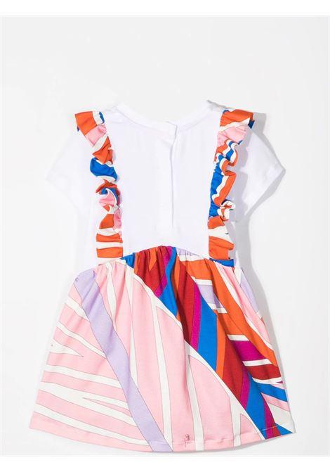 DRESS WITH ABSTRACT PRINT EMILIO PUCCI | 9O1521 OC500407AZ
